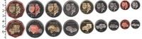 Изображение Наборы монет Нидерланды Бонайре 2014 2014  UNC-