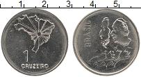 Изображение Мелочь Бразилия 1 крузейро 1972 Медно-никель UNC-