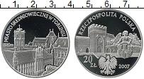 Изображение Монеты Европа Польша 20 злотых 2007 Серебро Proof-