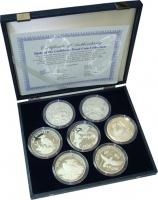 Изображение Подарочные монеты Карибы Карибские птички 0 Серебро Proof