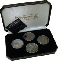 Изображение Подарочные монеты Сьерра-Леоне Ночные животные 2008 Серебро Proof Подарочный набор пос