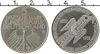 Изображение Монеты Германия ФРГ 5 марок 1952 Серебро UNC-