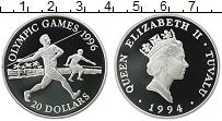 Изображение Монеты Австралия и Океания Тувалу 20 долларов 1994 Серебро Proof