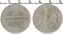 Изображение Монеты Веймарская республика 3 марки 1929 Серебро VF