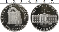 Изображение Монеты США 1 доллар 1992 Серебро Proof