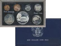 Изображение Подарочные монеты Новая Зеландия Выпуск монет 1977 года, Серебрянный юбилей 1977  Proof