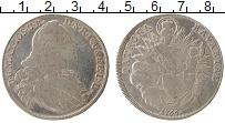 Изображение Монеты Бавария 1 талер 1766 Серебро VF