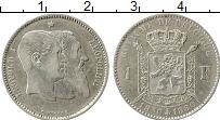 Изображение Монеты Европа Бельгия 1 франк 1880 Серебро XF