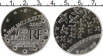 Изображение Монеты Европа Франция 1 1/2 евро 2005 Серебро Proof-