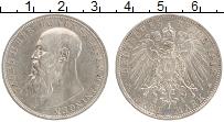 Изображение Монеты Саксен-Майнинген 3 марки 1913 Серебро VF