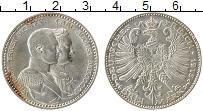 Продать Монеты Саксен-Веймар-Эйзенах 3 марки 1915 Серебро