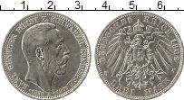 Изображение Монеты Германия Шварцбург-Зондерхаузен 3 марки 1909 Серебро XF