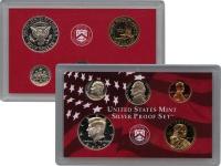 Изображение Подарочные монеты США Набор монет 2000 года в качетсве пруф 2000  Proof