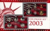 Изображение Подарочные монеты США Набор монет 2003 года в качестве proof 2003  Proof
