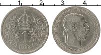 Изображение Монеты Австрия 1 крона 1893 Серебро VF