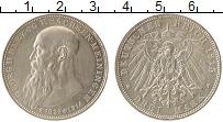 Изображение Монеты Германия Саксен-Майнинген 3 марки 1915 Серебро UNC-