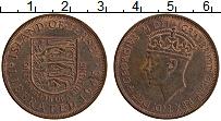 Изображение Монеты Остров Джерси 1/12 шиллинга 1945 Медь XF