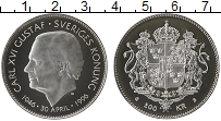 Изображение Монеты Швеция 200 крон 1996 Серебро UNC-