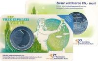 Изображение Подарочные монеты Нидерланды Права человека 2013 Посеребрение UNC