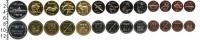 Изображение Наборы монет Курильские острова Курильские острова 2013 0  UNC- В наборе 13 монет но