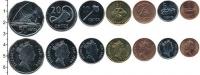 Изображение Наборы монет Фиджи Фиджи 1999-2009 0  AUNC