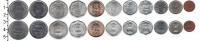 Изображение Наборы монет Индия Индия 1961-2011 0  UNC- В наборе 11 монет но