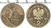 Изображение Мелочь Польша 2 злотых 2005 Медно-никель UNC-