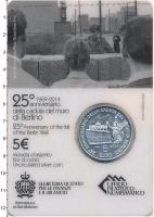Изображение Подарочные монеты Сан-Марино 5 евро 2014 Серебро UNC Подарочная монета по