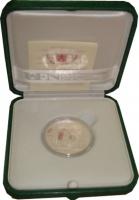 Изображение Подарочные монеты Ватикан 43-я годовщина празднования Дня Мира 2010 Серебро Proof