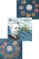Изображение Подарочные монеты Сан-Марино Джованни Пасколи-поэт 2012  UNC
