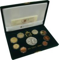 Изображение Подарочные монеты Ватикан Иисус Христос 2005  Proof Набор, выпущенный по