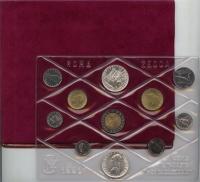 Изображение Подарочные монеты Италия Выпуск монет 1991 года 1991  UNC