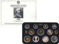 Изображение Подарочные монеты Италия Италия 1993 1993  Proof