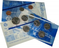 Изображение Подарочные монеты США США 1999 1999  UNC Годовой набор монет.