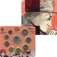 Изображение Подарочные монеты Сан-Марино Евронабор 2013 года 2013