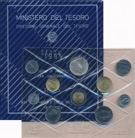 Изображение Подарочные монеты Италия Выпуск монет 1985 года 1985  UNC Представляем Вам вып