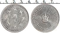 Изображение Мелочь Великобритания 5 фунтов 1993 Медно-никель UNC- 40 лет правления Ели