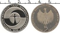 Изображение Мелочь ФРГ 5 марок 1982 Медно-никель Proof