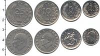 Изображение Наборы монет Турция Турция 1982-1986 0  XF В наборе 4 монеты но