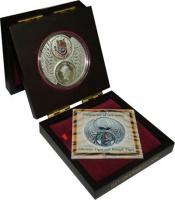 Изображение Подарочные монеты Фиджи 2 доллара 2010 Серебро Proof