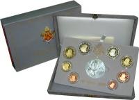 Изображение Подарочные монеты Ватикан Евровыпуск 2006 года 2006  Proof Подарочный евронабор