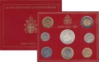 Изображение Подарочные монеты Ватикан ANNO XXIII 2001 2001