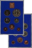 Изображение Подарочные монеты Великобритания Выпуск 1977 года 1977  UNC