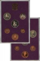 Изображение Подарочные монеты Великобритания Выпуск 1980 года 1980  AUNC Выпуск монет 1980 го