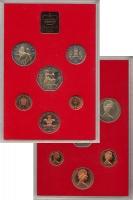 Изображение Подарочные монеты Великобритания Выпуск 1981 года 1981  AUNC Выпуск монет 1981 го