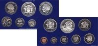 Изображение Подарочные монеты Ямайка выпуск 1975 года 1975  Proof