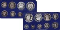 Изображение Подарочные монеты Ямайка Выпуск 1977 года 1977  Proof- Подарочный набор пос