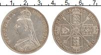 Изображение Монеты Великобритания 2 флорина 1889 Серебро XF Виктория