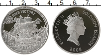 Изображение Монеты Австралия и Океания Соломоновы острова 25 долларов 2005 Серебро Proof-