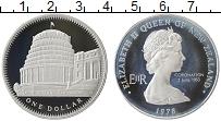 Изображение Монеты Новая Зеландия 1 доллар 1978 Серебро Proof